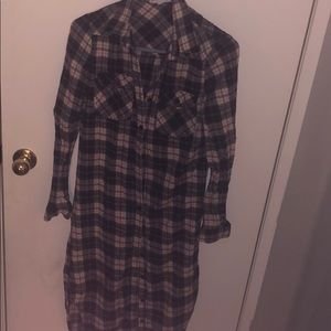Women's flannel nightgown # A 35